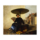 Fruit Seller Prints by Enoch Wood		 Perry
