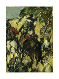Don Quixote, View from Behind Giclee Print by Paul Cézanne
