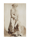 Portrait of Grace, the artist's Wife Giclee Print by Sir William		 Orpen