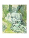 Cascades Art by John Henry Twachtman