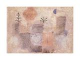 Paul Klee - Park with the cool Crescent Digitálně vytištěná reprodukce