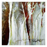 Abstract Forest 1 Posters by Kathleen Cloutier