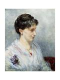 Portrait of Maria (Mizi) Waern Giclee Print by Ernst Josephson