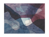 Mountain and Synthetic Air Giclée-tryk af Paul Klee