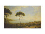 A Panoramic View of Naples, the Bay of Naples, Portici, Vesuvius and Capri Giclee Print by Pietro		 Fabris