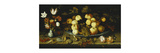 Fruit on a Dish Premium Giclee Print by Ast Balthasar