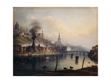 A View of Newcastle from the River Tyne Prints by  English School