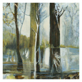 Contemporary Forest 1 Prints by Kathleen Cloutier