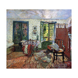 Annette in an Interior Art by Edouard		 Vuillard