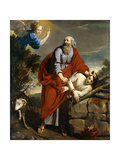 The Sacrifice of Isaac Giclee Print by Philippe Champaigne