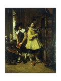 The Connoisseurs Giclee Print by Ferdinand		 Roybet