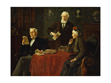 Seeking Advice Giclee Print by Louis Charles		 Moeller