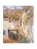 A Path on the Edges of Pontoise Prints by Camille Pissarro