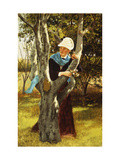 Among the Trees Posters by John George Brown