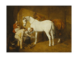Shoeing the Favourite Print by John Frederick Herring I