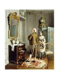 Vanity Giclee Print by Francois		 Brunery