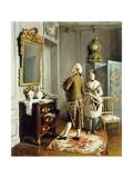 Vanity Giclee Print by Francois Brunery