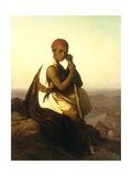 The Bedouin Boy Giclée-tryk af  German School