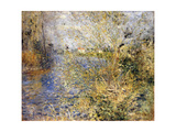 The Seine by Argenteuil Giclee Print by Pierre-Auguste Renoir
