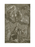The Virgin and Child with Saint Francis and Saint George Prints by  Veronese