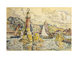 La Phare a Lezardrieux Posters by Paul		 Signac