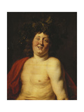 The Young Bacchus Prints by Jacob		 Jordaens