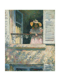 Girl at the Window Giclee Print by Henri		 Lebasque
