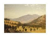 Bergen Park, Colorado Print by John Frederick Kensett