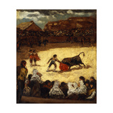The Bullfight Giclee Print by Lucas y Padilla Eugenio