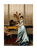 The Jewelry Chest Giclee Print by Joseph Frederic Soulacroix