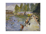 Chiswick Baths Print by Sir John		 Lavery