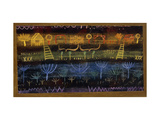 Garden on the Level Prints by Paul Klee
