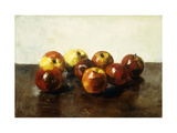 A Still Life of Apples Posters by Ury Lesser