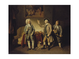A Scene from 'Love in a Village' by Isaac Bickerstaffe, Act 1, Scene 2 Giclee Print by Johann Zoffany