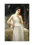 Contemplation Art by Charles Amable		 Lenoir