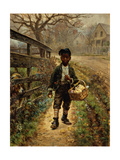 Protecting the Groceries Giclee Print by Edward Lamson		 Henry