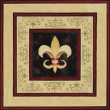 Fleur de Lys II Prints by Janice Gaynor