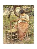 The Seamstress Kunst von Robinson Theodore
