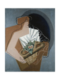 Woman with Basket Posters by Juan Gris