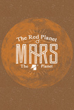 Mars Posters by Kenneth Phillips
