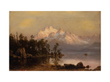 Mountain Canoeing Prints by Albert Bierstadt