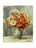 Vase d'Anemones Poster by Pierre-Auguste Renoir