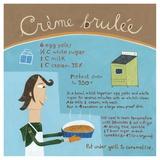 Creme Brulée Poster von Céline Malépart