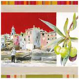 St Tropez Art by  Lizie