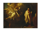 The Annunciation Giclee Print by Giovanni Battista		 Piazzetta