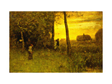The Bathers Giclee Print by Sr., George Inness