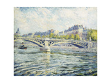 The Seine, Paris Giclee Print by Henri		 Lebasque