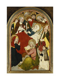 The Death of the Virgin Giclee Print by (attributed to) Hans Multscher