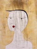 Sealed Woman Giclée-tryk af Paul Klee