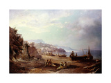 Amalfi Prints by Franz Richard		 Unterberger